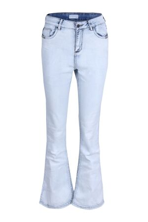 CL Essentials Dames broek strak denim CL Essentials Farida lds Z50075 bleached
