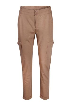 So Soire Dames broek pantalon strak So Soire Renate Z50354 caramel