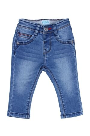 Flinq Babyjgs broek denim Flinq Tinwald Z50330 medium blue