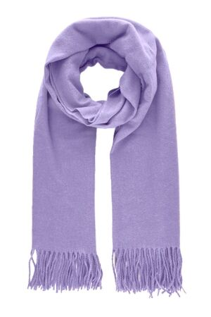 Pieces Winteraccessoires ds sjaal Pieces 17083758 purple